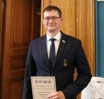 Антон Ушаков, инженер-технолог 2-й категории производственно-технологической службы разделительного производства ЭХЗ