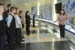 Около 40 девятиклассников познакомились с историей предприятия и его текущей деятельностью