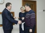 Рабочая поездка президента АО «ТВЭЛ» Юрия Оленина на ЭХЗ