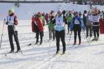 Более 80 работников ЭХЗ и подрядных предприятий приняли участие в соревнованиях по лыжным гонкам