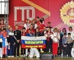 В общем зачете среди городов первое место заняла команда Зеленогорска