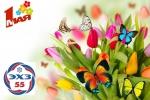 Поздравление с Праздником весны и труда Сергея Филимонова и Алексея Рубиса