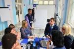 Наталья Горбаченко уже участвовала в лидер-форуме, но только в роли оценщика.