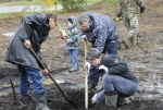 Зеленогорске заложен парк Электрохимического завода