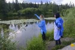 Экологи провели очередной осмотр района прорыва дамбы