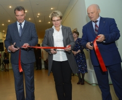 Наталья Никипелова открыла выставку, посвященную Е.П. Славскому
